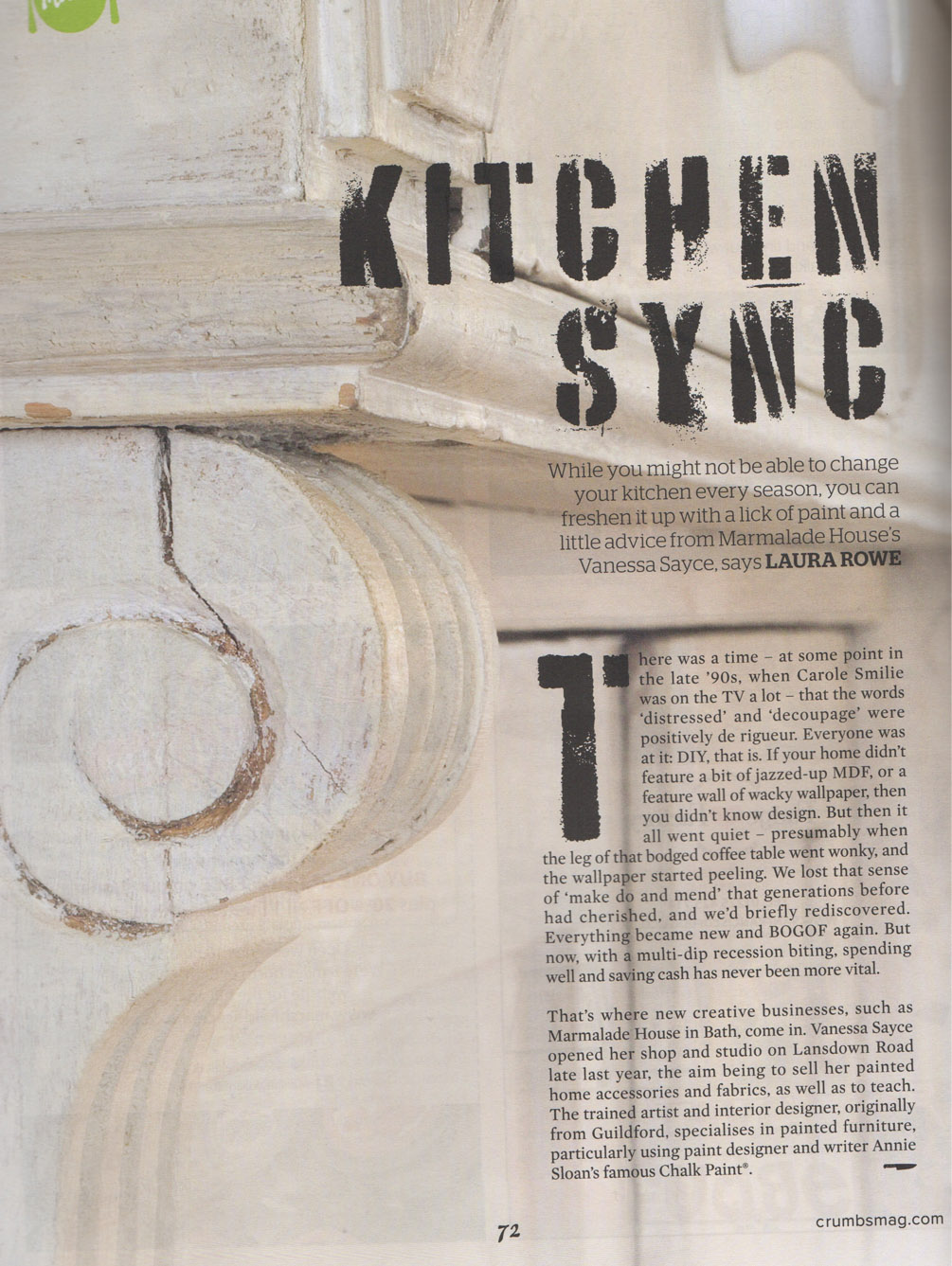 Article 'Kitchen Sync' P.1
