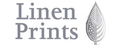 Logo linen prints logo