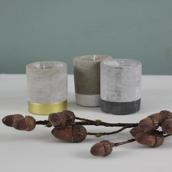 Stoneware Candle
